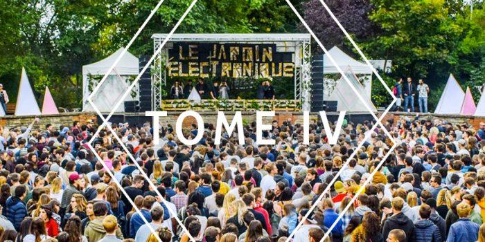L'aftermovie du Jardin Électronique – Tome 4, est en ligne !