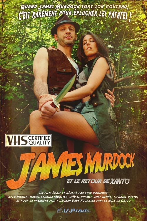 James Murdock et le retour de Xanto - VHS Certified - Affiche