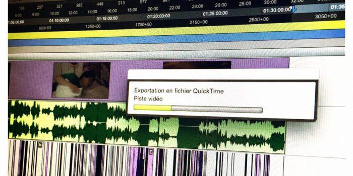 Le mix de mon court-métrage «Coloc à terre» est terminé !!