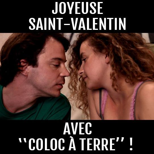 News #046 - Coloc à terre en ligne pour la Saint Valentin