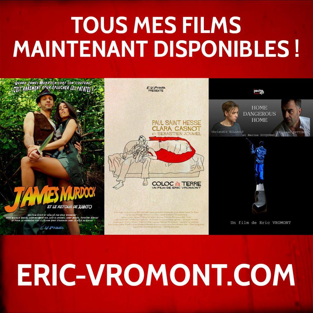 News #047 - Tous mes films sont disponibles