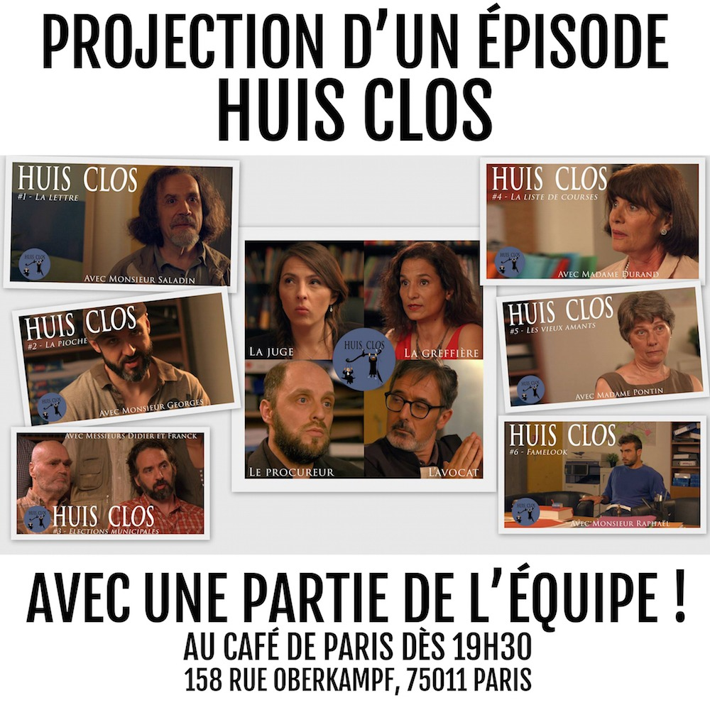 News #049 - Huis clos - Projection