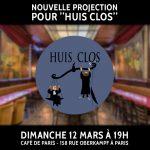 News #050 - Huis clos -Projection #2