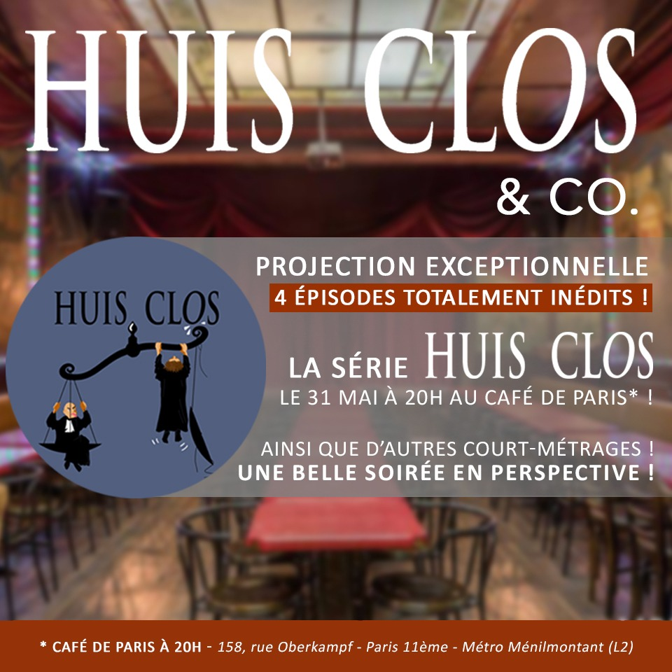 News #053 - Huis clos & co. - Projection