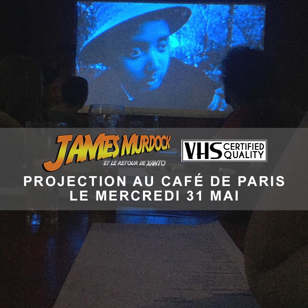 News #055 - James Murdock, nouvelle projection