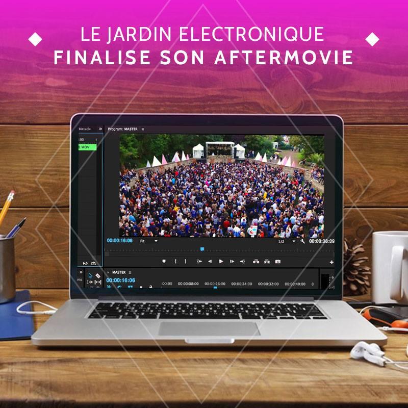 News #066 - L'aftermovie du jardin Electronique - tome 4 est bientôt prêt