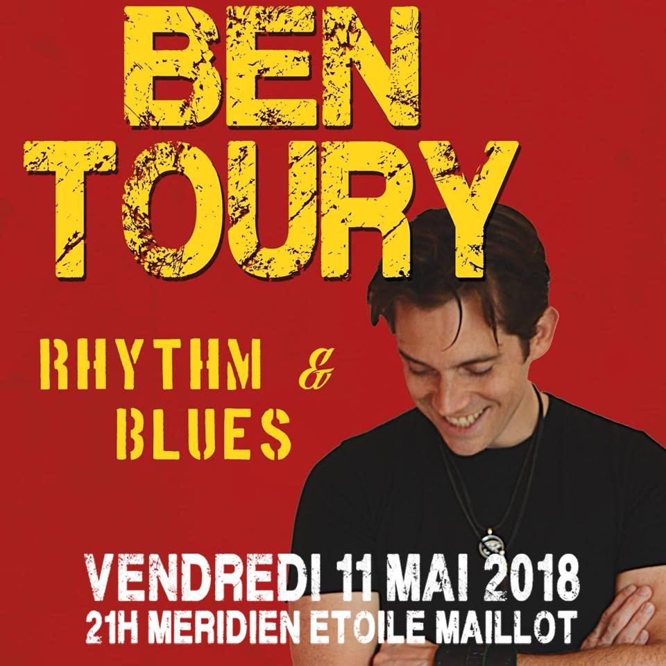 News #074 - Ben Toury en concert au Méridien