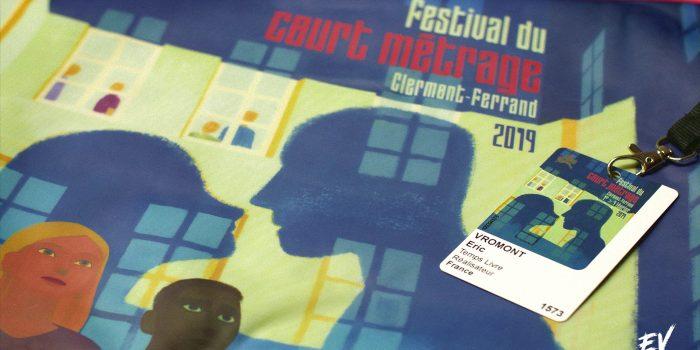 J'étais au festival du court-métrage de Clermont-Ferrand